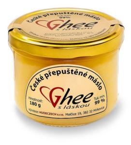 Přepuštěné máslo - ghee, ghíčko-ghí-180 g / 260 ml